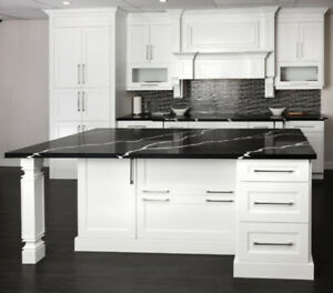 FREE QUOTE!! Fancy white colors kitchen cabinets on sale!!