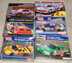 1987-1997 Nascar Plastic Model Kits Kodak Scooby Winns