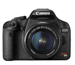 Canon EOS Rebel T1i with 18-55mm lens kit