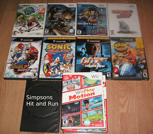 Wii/Gamecube games for sale