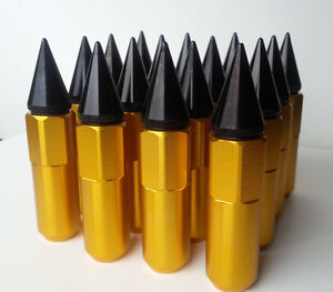 Lug Nuts spike tips avail 12x1.5 and 12x1.25mm available
