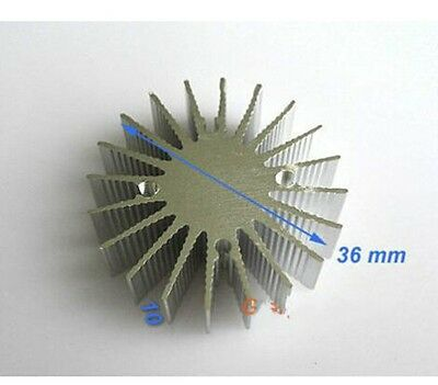 5pcs 1w Watt Led Aluminium Heatsink Round