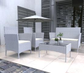 Modern Outdoor Garden Rattan Set Furniture