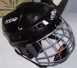 CCM Vector 04 Sm. Hockey Helmet + Easton Stealth S17 Cage London Ontario image 1
