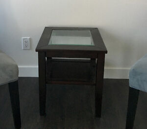 Coffee table and two end tables for sale!
