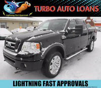 2008 Ford F-150 FX4 Super Crew Pickup Truck