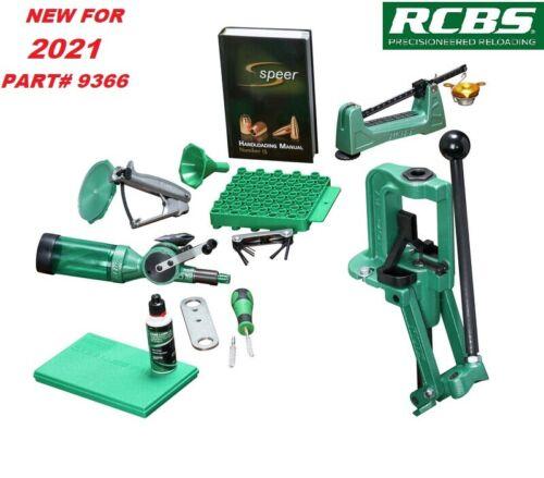 RCBS Rock Chucker Supreme Master Reloading Kit 9366