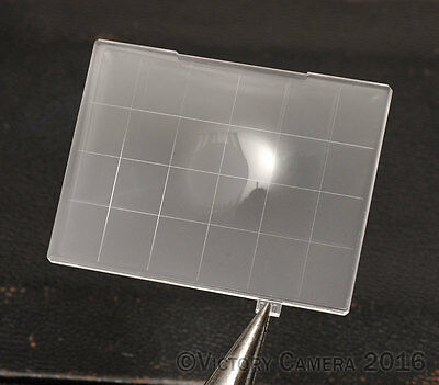 how to clean a focusing screen