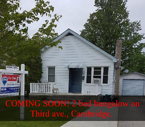 Coming Soon 2 bed, 1 bath bungalow