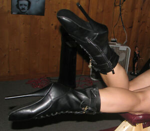 Black Ballet shoes (specialty boots)