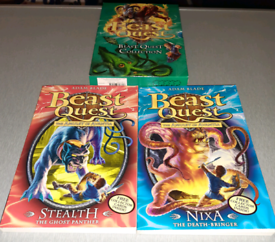 Beast Quest books, brand new, £9;ono