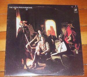 neon philharmonic vinyl record album Rare Classic Rock 1969