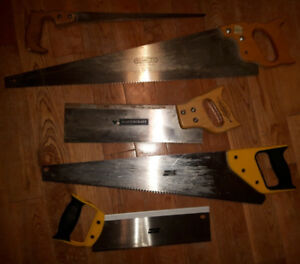 5 Saws ~~~ FIRST $20.00 TAKES THE LOT!!! ~~~~