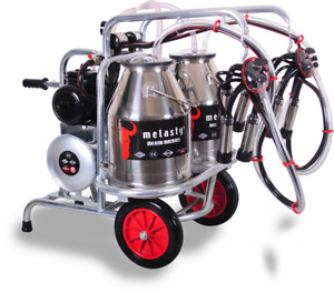 Portable Milkers for Cows, Goats & Sheep