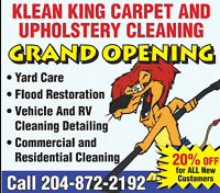 Klean King Carpet and Upholstery Cleaning