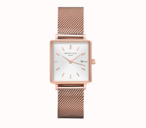 Rosefield Pink Gold Watch
