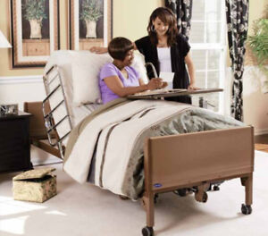 Invacare Electric Hospital Bed w/ Matress