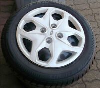 185 60 15 - ARCTIC CLAW - SNOW TIRES on RIMS 4x108 - FORD FIESTA