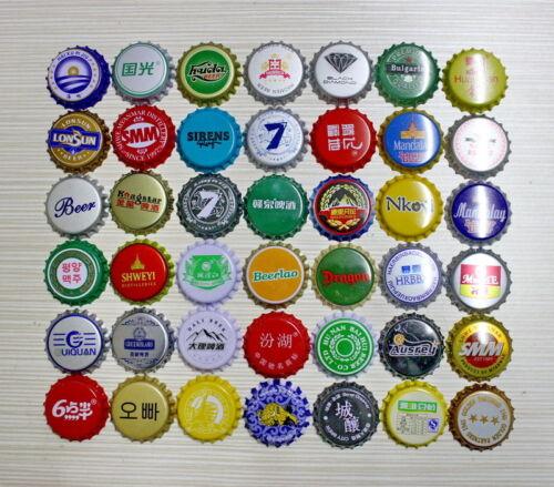 KRONKORKEN BEER CAPS CROWN CAPS Cerveza CAPS 50 Diferentes CHINA /& ASIA ...