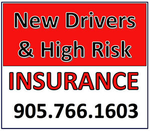 NEW & HIGH RISK DRIVERS WELCOME! 905-766-1603
