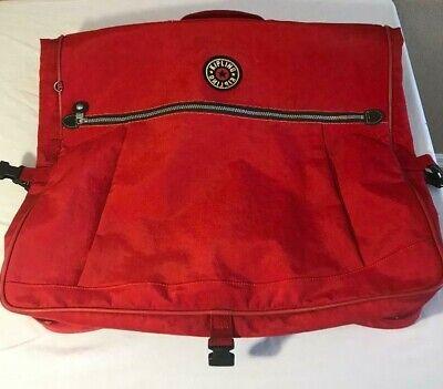 "Kipling Luggage Red Garment Bag 24"" x 20"""