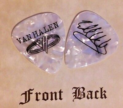 VAN HALEN EDDIE band Signature logo guitar pick -(Sn)