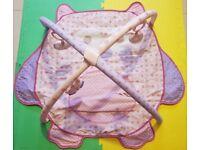 Baby bundle (Baby potty + playmat + newborn bath pillow + baby step stool)