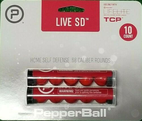 Pepperball Live SD Round Projectiles Refill Accessory Pack of 10