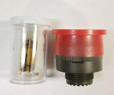Souriaudeutsch Circular Mil-spec Rfi Connector Plug D3899926wc35sa