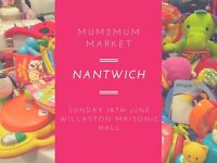 Mum2Mum Market NANTWICH nearly new baby sale