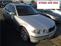 BMW 318 TI SE COMPACT Hatchback 2001 GREAT BARGAIN MUST GO !!