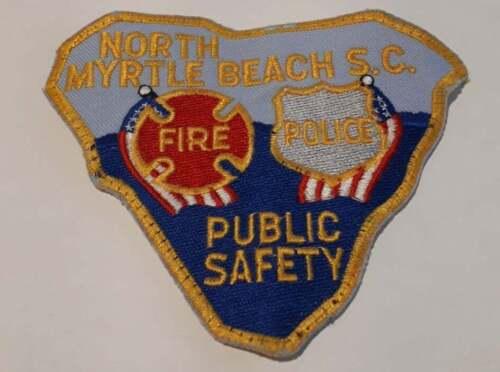 North Myrtle Beach South Carolina SC US Police Patch Vintage