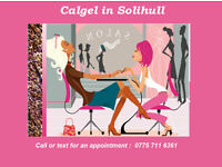 CALGEL IN SOLIHULL QUALIFIED MOBILE NAIL TECHNICIAN