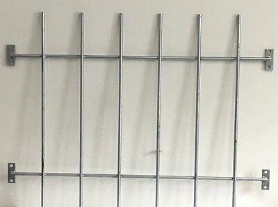 Fenstergitter Sicherheitsgitter Einbruchschutz Schutzgitter feuerverzinkt   0167