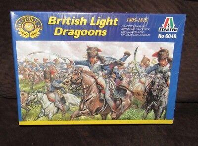Italeri 1//72 British Light Dragoons Cavalry Figures 1805-1815