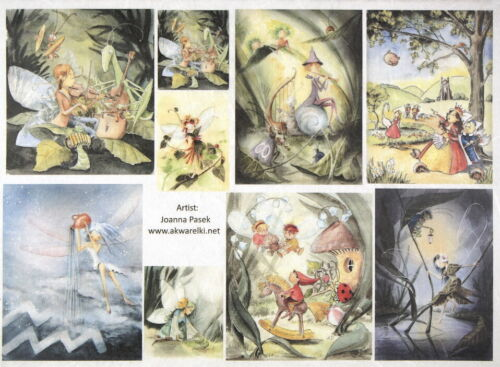 Rice Paper for Decoupage Scrapbook Craft Sheet Fairy tale 2