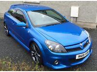 Vauxhall Astra VXR last day of 2007, Arden Blue, *VXR REG*
