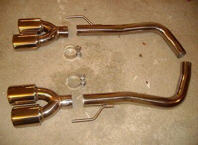 EDELSTAHL F1 CUP SPORTAUSPUFF für MERCEDES W215 CL500 4 ROHR EXTREM SOUND V8 AMG