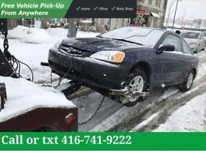 Scarborough CASH FOR CARS | SCRAP-SALVAGE-USED-JUNK CARS | TOP CASH For Unwanted Cars - Damage  Cars - Not Running Cars