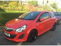 ** RED VAUXHALL CORSA 2013 ** 1.2L PETROL ** CHEAP TO RUN & INSURE **