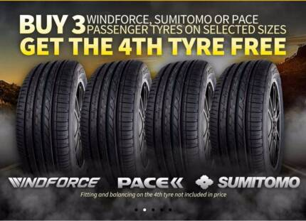 CHEAP 4 FOR 3 BUDGET TYRE DEALS + FREE Mobile Service Worongary Gold Coast City Preview