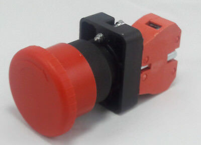 Qty 1 22mm Emergency Stop Switch 10a E-stop