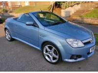 Vauxhall Tigra Exclusive Convertible**leather seats, very cheap to run**