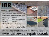 Jbr driveway repairs