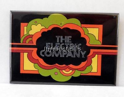 "Vintage THE ELECTRIC COMPANY TV SHOW PBS 2"" x 3"" Fridge MAGNET Art"