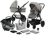 Kinderkraft Xmoov Grey 3-in-1 Combi Kinderwagen incl. Aut...