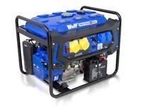 Wolf 7000 watts petrol engine electric start generator limited quality