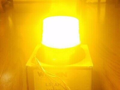 Sale 70 Off New Whelen L51 Class 1 Amber Led Beacon L51ap Utility Snow Msrp342