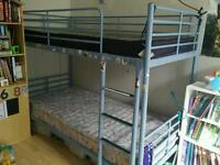 Ikea bunk beds and mattresses