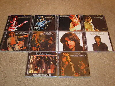 The Rolling Stones - Ultra Rare Trax Vol.1 - Vol.10 - 10CD Set on Rummage